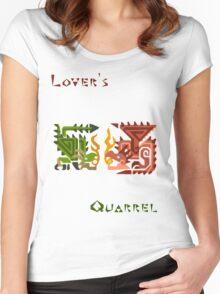 Monster Hunter- Lover's Quarrel Women's Fitted Scoop T-Shirt