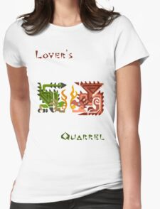 Monster Hunter- Lover's Quarrel Womens Fitted T-Shirt