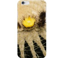 Fascinating Cactus Bloom - Soft and Fragile Among the Thorns iPhone Case/Skin