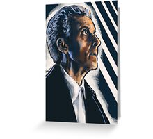 12th Doctor Greeting Card