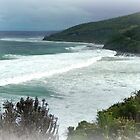 Great Southern Ocean - G.O.R. near Lorne, Vic. Aust. by EdsMum