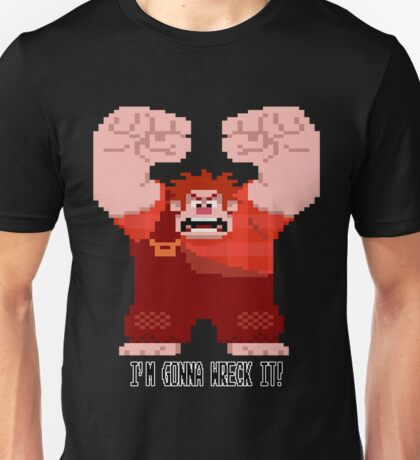 Wreck-It Ralph - Gonna Wreck It! Unisex T-Shirt