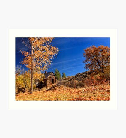 The Old Bunkhouse Landscape Art Print