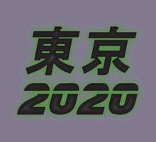 東京 2020 - Tokyo 2020 - Green Glow Kids Clothes