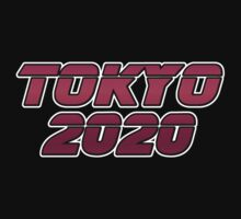 Tokyo 2020 - Red Metallic by graphix