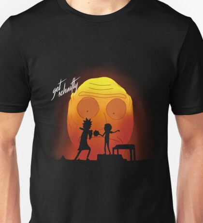 "rick and morty ""you gotta get schwifty"" Unisex T-Shirt"