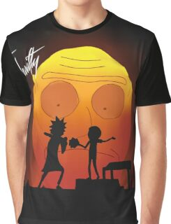 """rick and morty """"you gotta get schwifty"""" Graphic T-Shirt"""