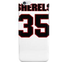 NFL Player Marcus Sherels thirtyfive 35 iPhone Case/Skin