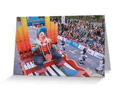 Clown Adelaide Pageant 2014 Greeting Card