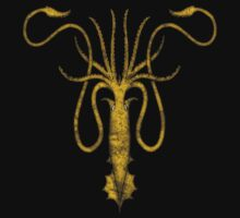 House Greyjoy Kraken Sigil Game of Thrones by DudePal
