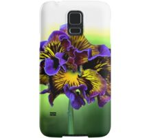 Shades of Frilly Pansy Samsung Galaxy Case/Skin