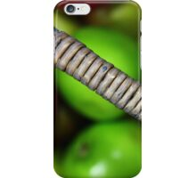 A basketful of apples iPhone Case/Skin