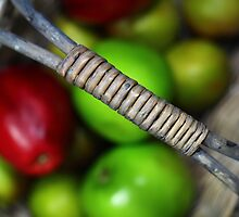 A basketful of apples by Dipali S