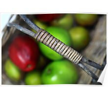 A basketful of apples Poster