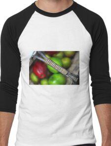 A basketful of apples Men's Baseball ¾ T-Shirt