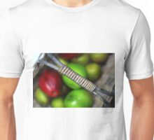 A basketful of apples Unisex T-Shirt