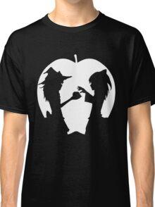 Bad Apple-White Classic T-Shirt