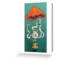There's Something In My Third Eye Art Print Greeting Card