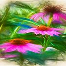 Painting Flower`s by JohnDSmith