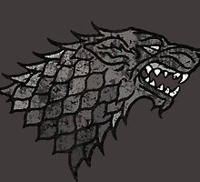 House Stark Sigil from Game of Thrones by DudePal