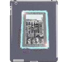 NYC - The fun of exploring Manhattan iPad Case/Skin