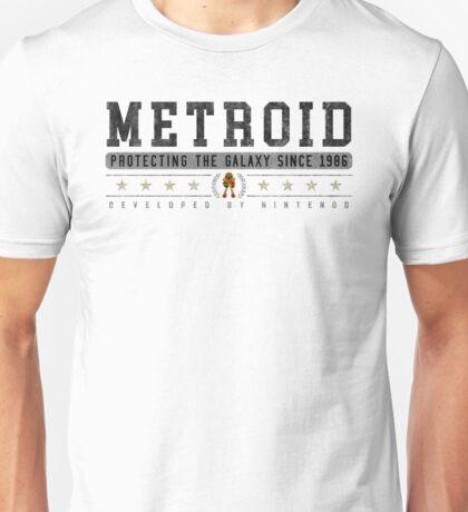 Metroid - Vintage - White Unisex T-Shirt