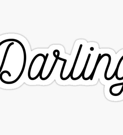 Darling stickers Sticker