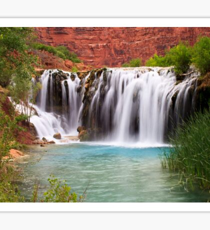 Navajo Falls  Sticker