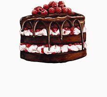 Chocolate Raspberry Cake Unisex T-Shirt