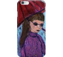 Walk Between The Raindrops iPhone Case/Skin