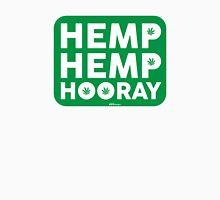 Hemp Hemp Hooray White Green Unisex T-Shirt