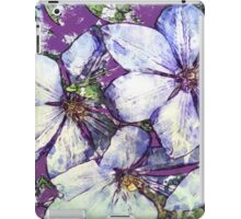 7 DAYS OF SUMMER- DISTRESSED FLORALS/FLOWERS 5 iPad Case/Skin