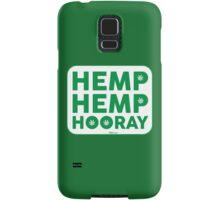 Hemp Hemp Hooray Green White Samsung Galaxy Case/Skin