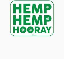 Hemp Hemp Hooray Green White Unisex T-Shirt