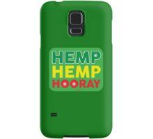 Hemp Hemp Hooray Rasta Rastafarian Green Samsung Galaxy Case/Skin