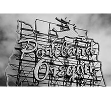 Welcome To Portland Photographic Print