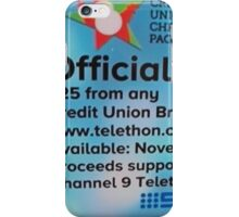 Adelaide Christmas Pageant 2014 ad DVD iPhone Case/Skin