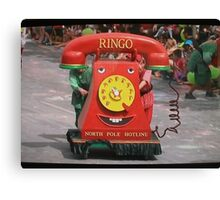 Adelaide Christmas Pageant 2014Ringo Canvas Print