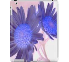 7 DAYS OF SUMMER- PURPLE FLORALS/FLOWERS  iPad Case/Skin