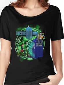 Doctor Moo and Clara -alt Women's Relaxed Fit T-Shirt