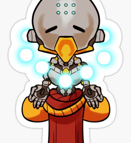 Experience Tranquility Sticker