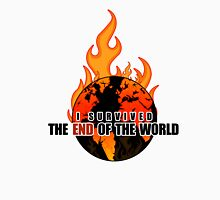 I Survived The End of the world (WHITE) Unisex T-Shirt