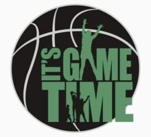 It's Game Time - Green One Piece - Long Sleeve