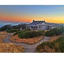 Craig's Hut - Sunrise 4 Photographic Print