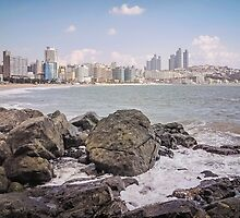 Haeundae Beach  - Busan, South Korea by TonyCrehan