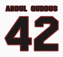 NFL Player Isa Abdul-Quddus fortytwo 42 by imsport