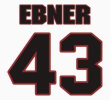 NFL Player Nate Ebner fortythree 43 by imsport