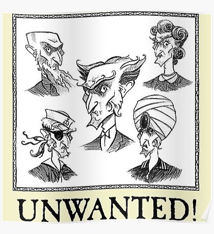 A Series Of Unfortunate Events Unwanted Poster