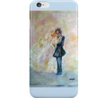 Wedding Dance Art Designed Decor & Gifts - Periwinkle iPhone Case/Skin
