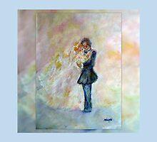 Wedding Dance Art Designed Decor & Gifts - Periwinkle by innocentorigina